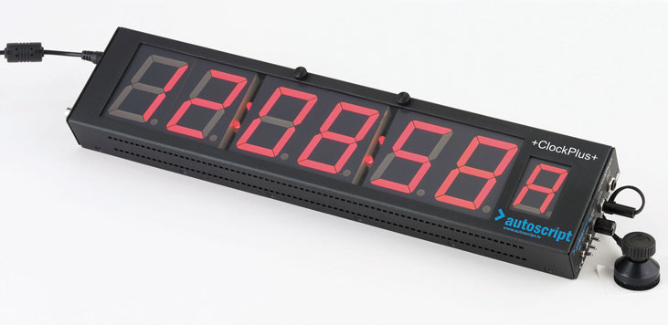 CLOCKPLUS: Timecode Display