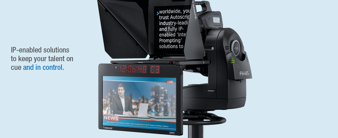Autoscript - Leading Manufacturer & Distributor of Autocue