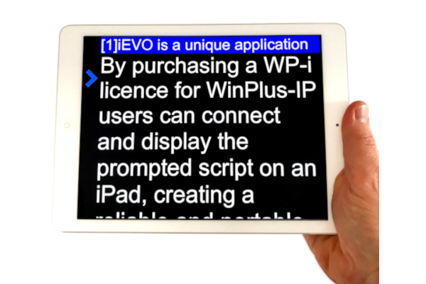 WinPlus-IP Single device licence for use with iPad