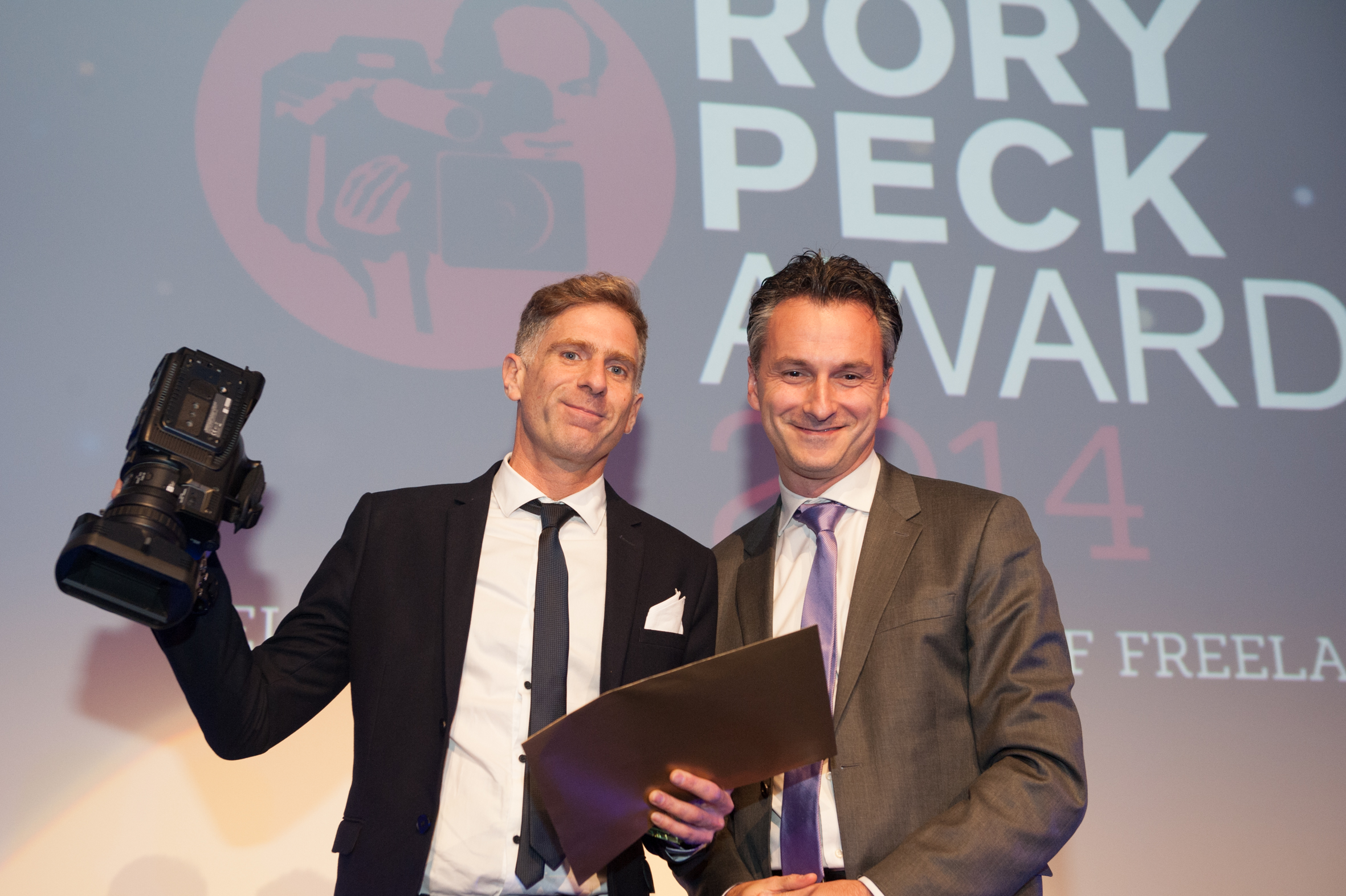 Autoscript Rentals supports Rory Peck Awards 2014
